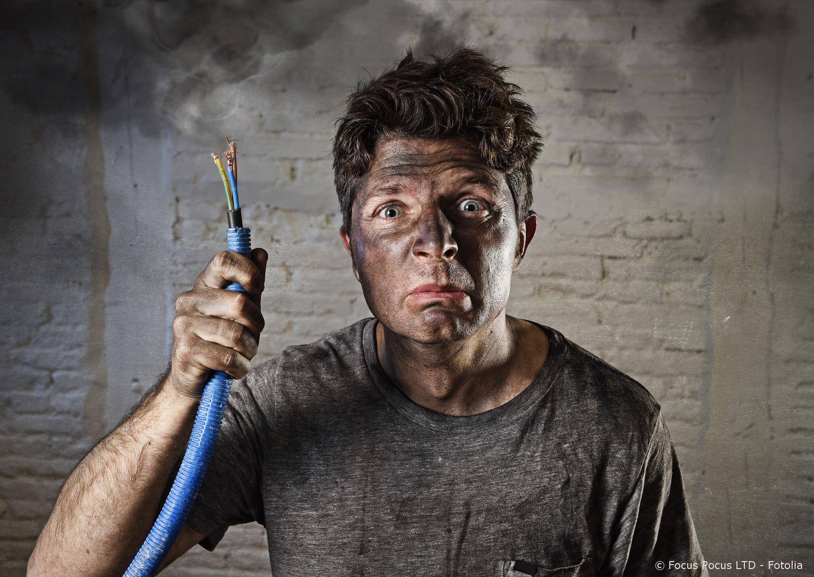 Stromunfälle im Haushalt vermeiden - Elektriker und ...