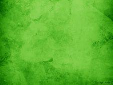 Wand grün lasiert