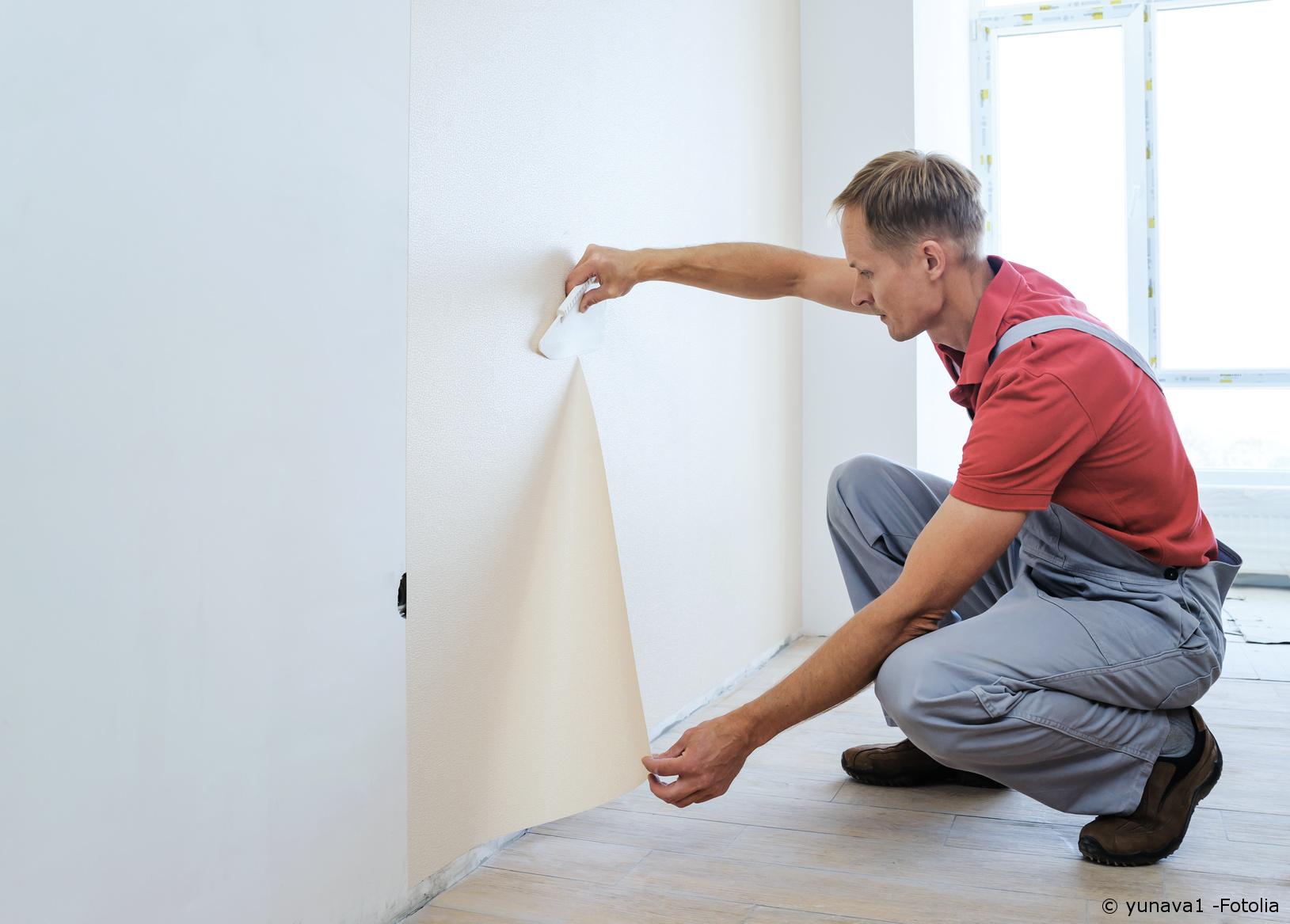 wandgestaltung anleitung zum tapezieren maler und lackierer. Black Bedroom Furniture Sets. Home Design Ideas