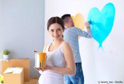 Gestalten Sie Ihre Wände mit Schablonen