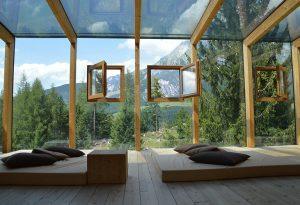 Panoramafenster sorgen für einen guten Ausblick