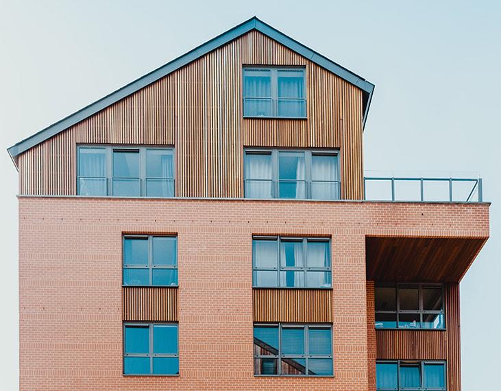 Spannende Architektur bei Effizienzhaus