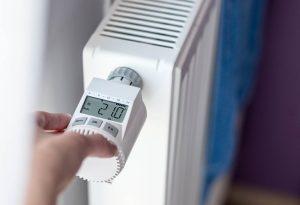 Heizungssteuerung durch programmierbares Thermostat