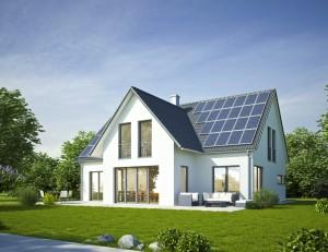 Haus - modern und sparsam