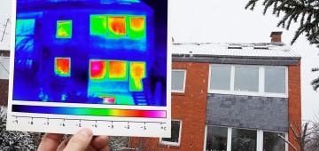 Thermografie am Wohnhaus