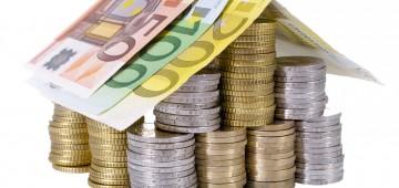 Haus Münzen Geld Förderung
