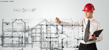 Planung eines Dachs