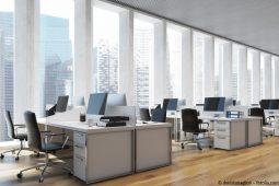 Energetische Sanierung der Büroräume