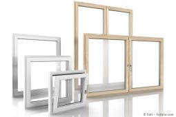 Auswahl an Fensterrahmen aus Holz