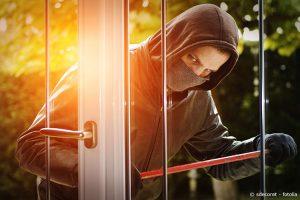 Einbruchschutz gegen Einbrecher