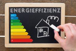 Grafik zur Energieeffizienz bei Fenstern