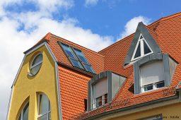 Fensterformen: rund, schräg, dreieckig