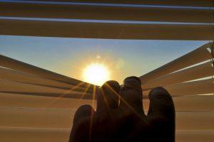 Sonnenschutz durch Rollos