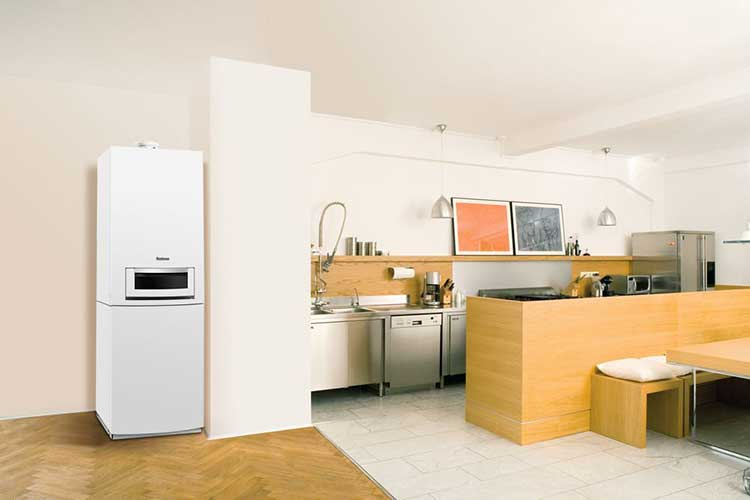 Gasheizung im Einfamilienhaus