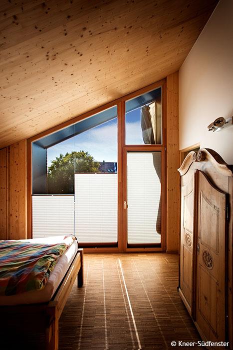 Holz-Alu-Fenster eignen sich auch als Panorama- und Terrassenfenster