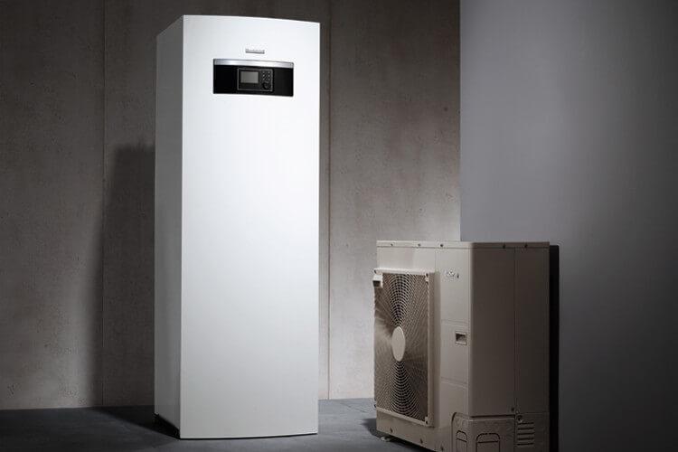 Energiesparende Wärmepumpe von Buderus
