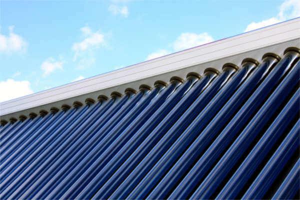 Solarthermie-Anlage