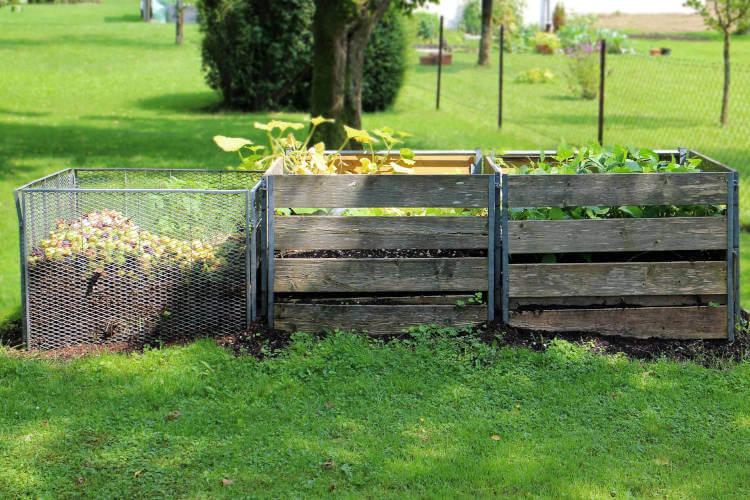 Kompost bei er Gartenplanung richtig anlegen