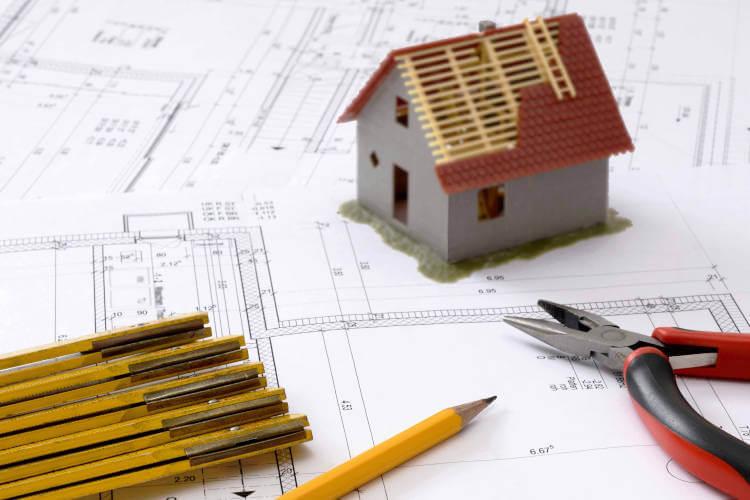Planung der Gebäudesanierung