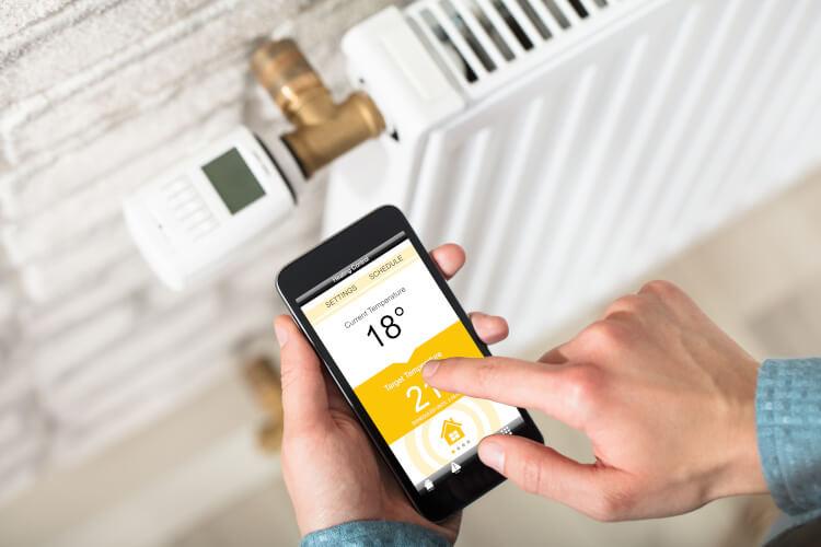Heizungsregulierung im Smart Home